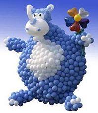 Angiani ballondekorationen ballondeko ballongirlanden for Luftballons duisburg